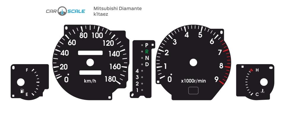 MITSUBISHI DIAMANTE 01