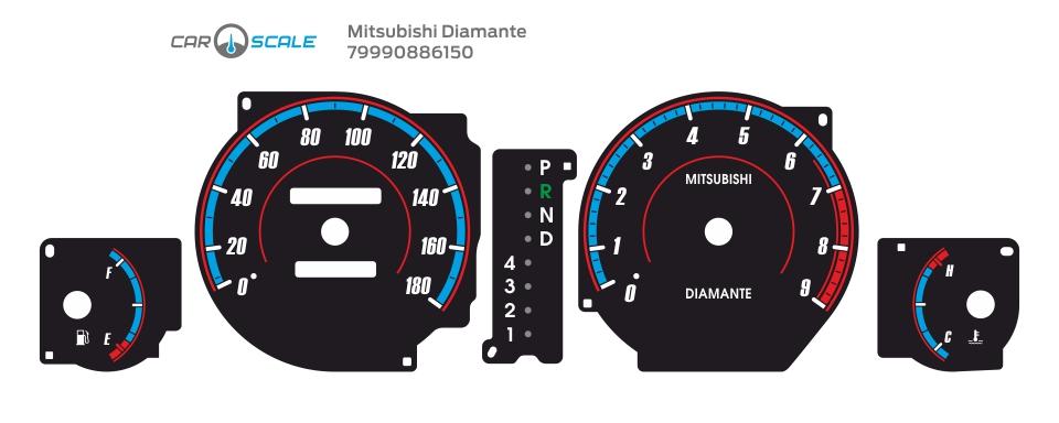 MITSUBISHI DIAMANTE 02