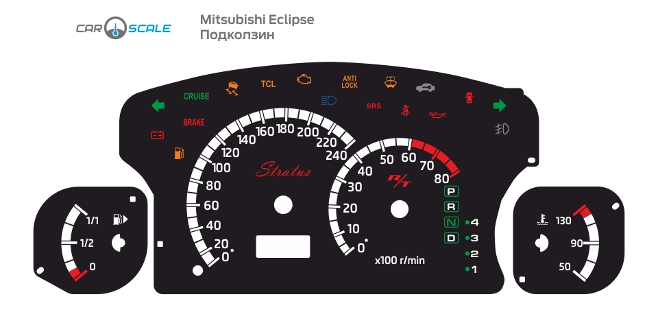 MITSUBISHI ECLIPSE 09
