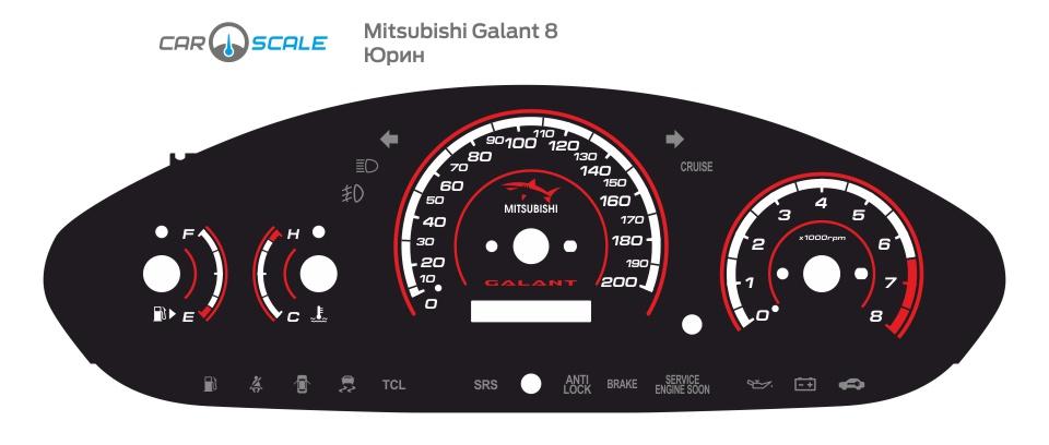 MITSUBISHI GALANT 8 05