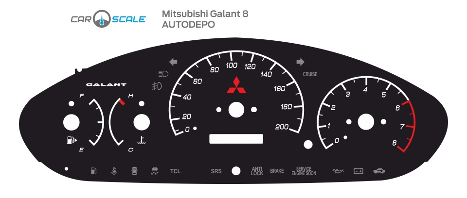 MITSUBISHI GALANT 8 07