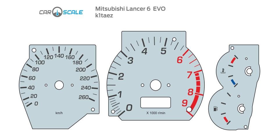 MITSUBISHI LANCER 6 EVO 01