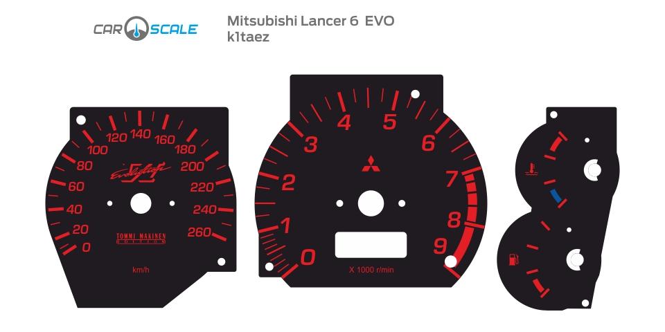 MITSUBISHI LANCER 6 EVO 03