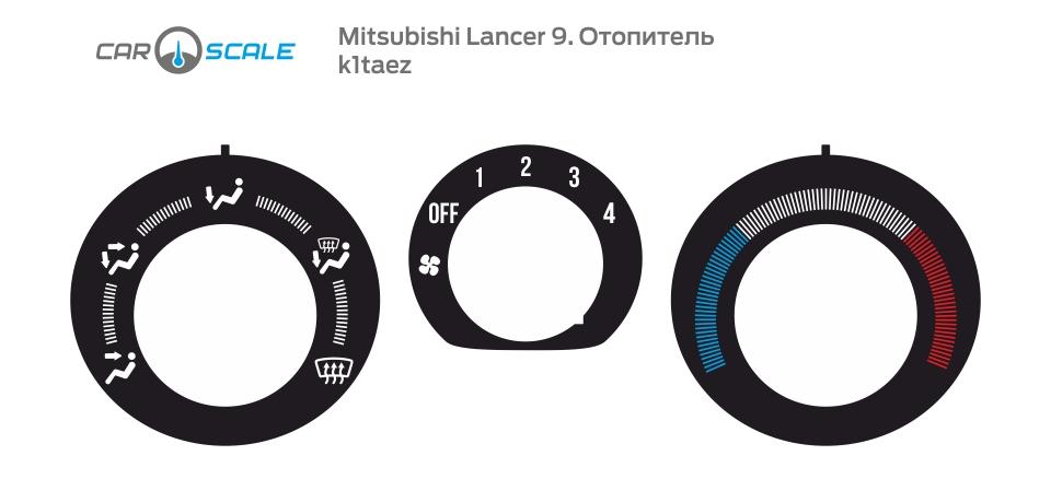 MITSUBISHI LANCER 9 HEAT 01
