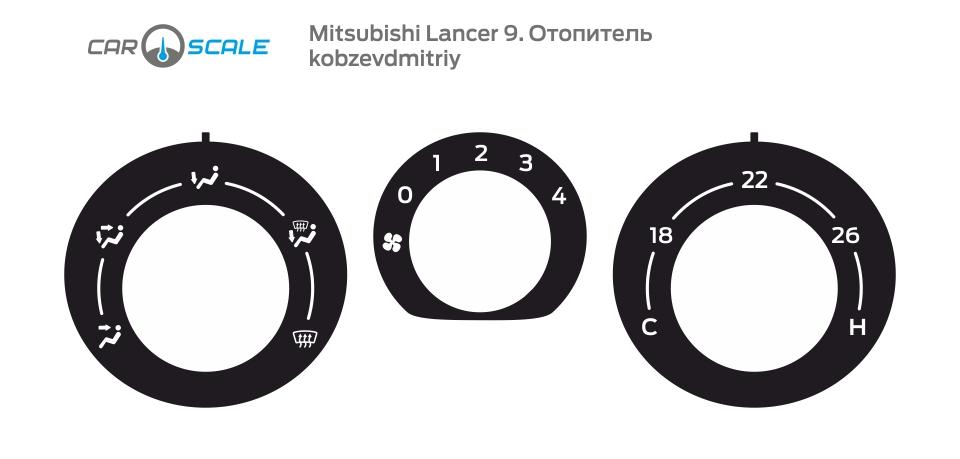 MITSUBISHI LANCER 9 HEAT 06