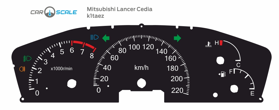 MITSUBISHI LANCER CEDIA 05