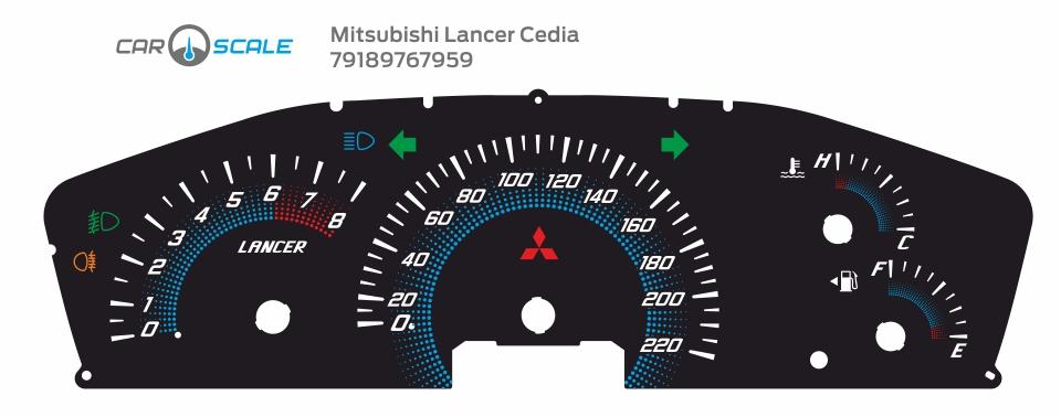 MITSUBISHI LANCER CEDIA 08