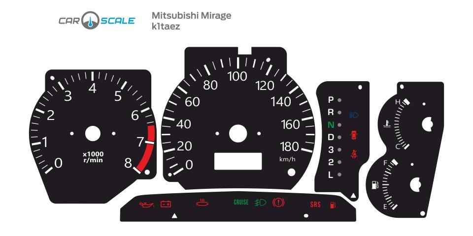 MITSUBISHI MIRAGE 01