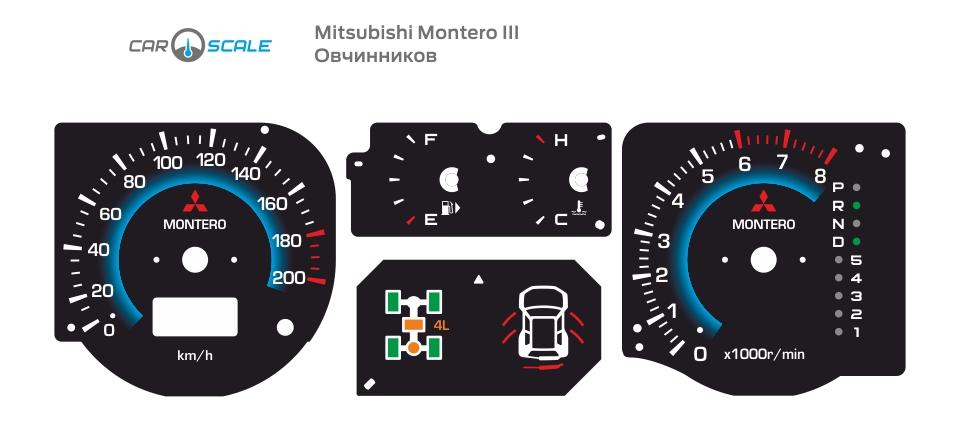 MITSUBISHI MONTERO 3 05