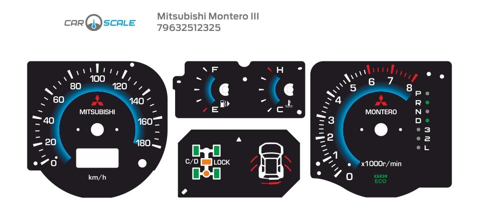 MITSUBISHI MONTERO 3 06