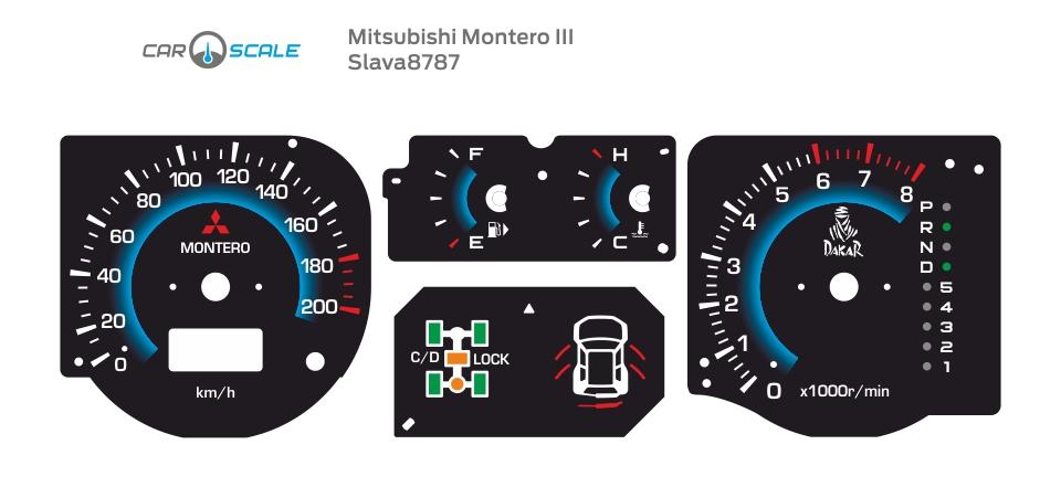 MITSUBISHI MONTERO 3 07