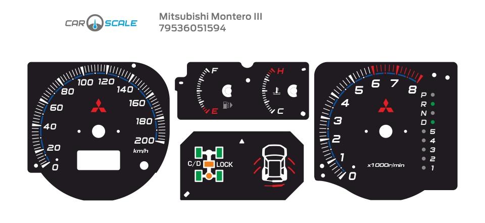 MITSUBISHI MONTERO 3 08