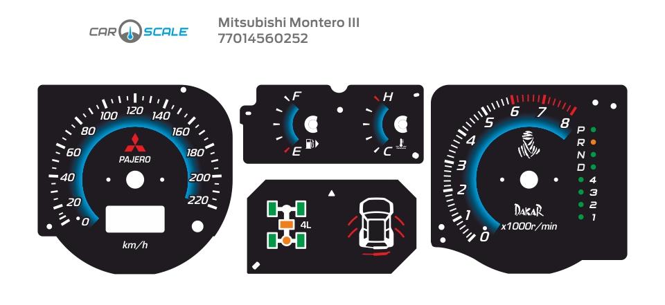 MITSUBISHI MONTERO 3 09