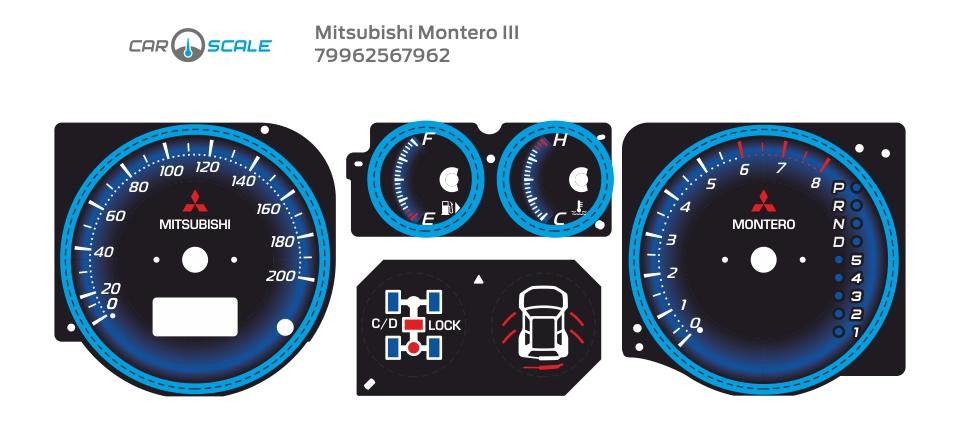 MITSUBISHI MONTERO 3 10