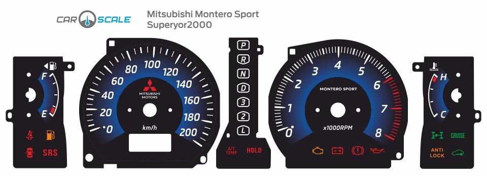 MITSUBISHI MONTERO SPORT 07