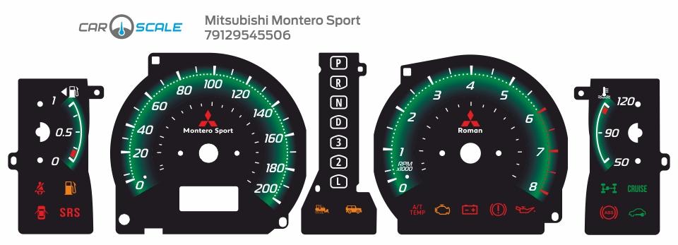 MITSUBISHI MONTERO SPORT 08