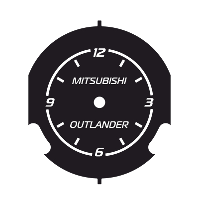 MITSUBISHI OUTLANDER CLOCK 04