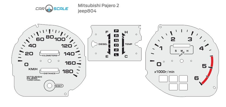 MITSUBISHI PAJERO 2 07