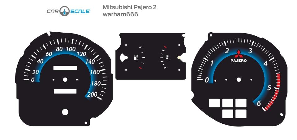 MITSUBISHI PAJERO 2 02
