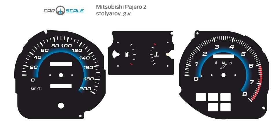 MITSUBISHI PAJERO 2 06