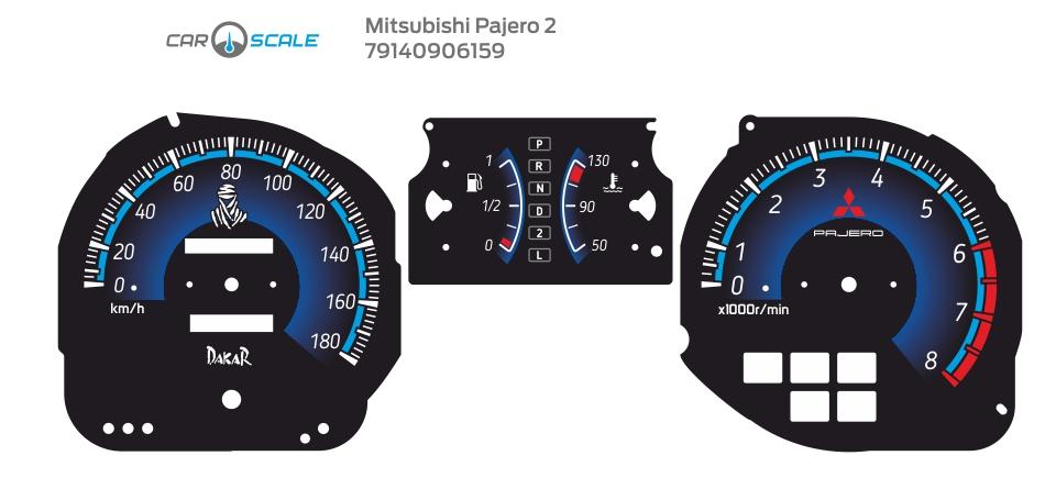 MITSUBISHI PAJERO 2 09