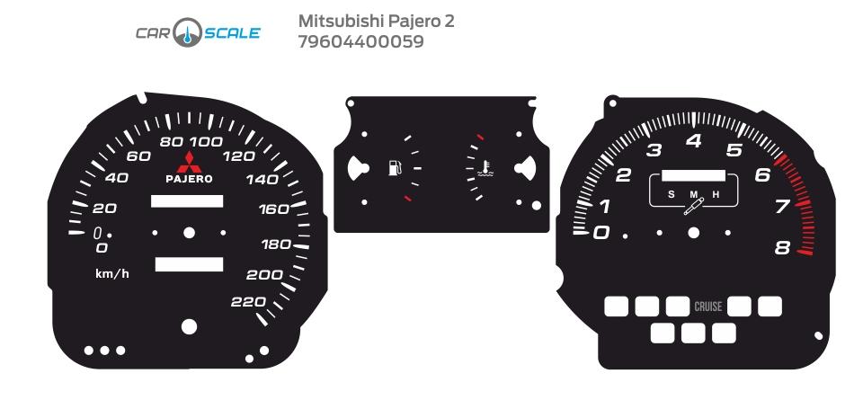 MITSUBISHI PAJERO 2 11