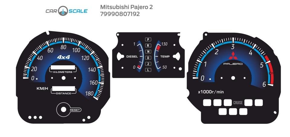 MITSUBISHI PAJERO 2 12