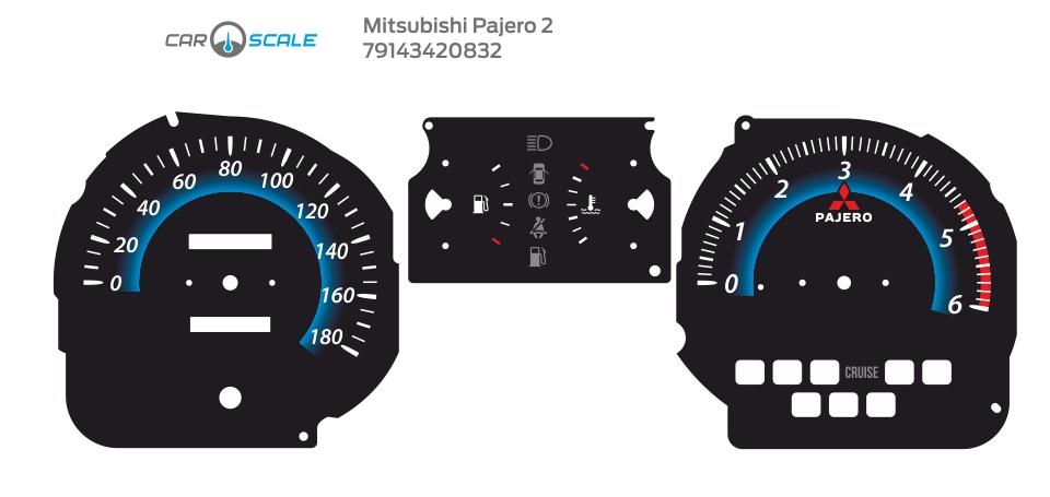 MITSUBISHI PAJERO 2 16