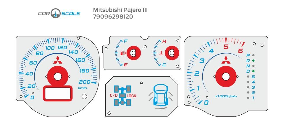 MITSUBISHI PAJERO 3 03