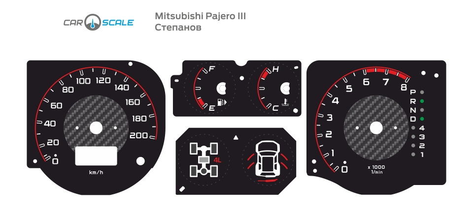 MITSUBISHI PAJERO 3 06