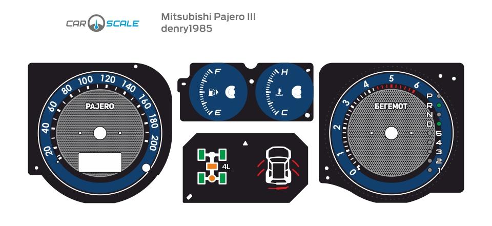 MITSUBISHI PAJERO 3 14