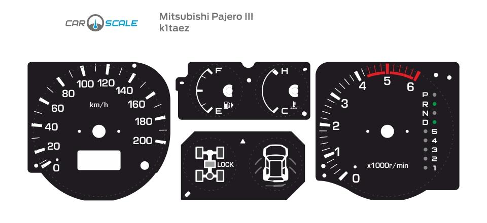MITSUBISHI PAJERO 3 01