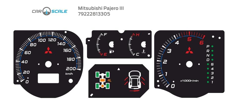 MITSUBISHI PAJERO 3 02