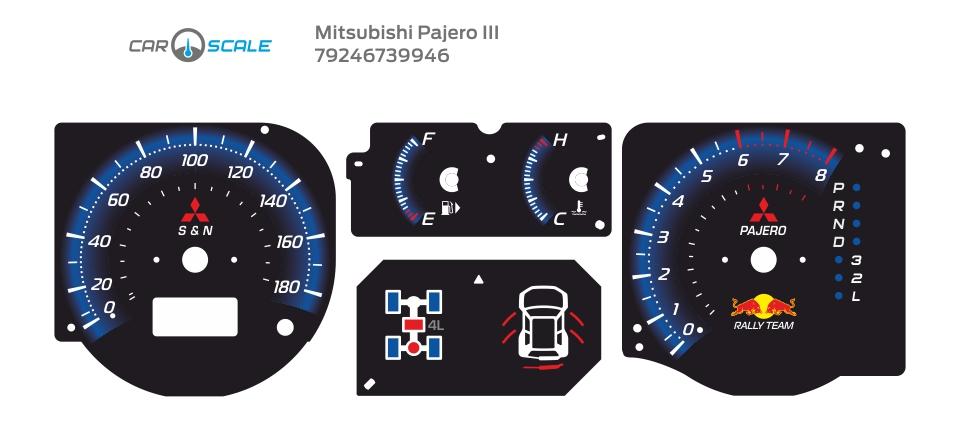 MITSUBISHI PAJERO 3 05