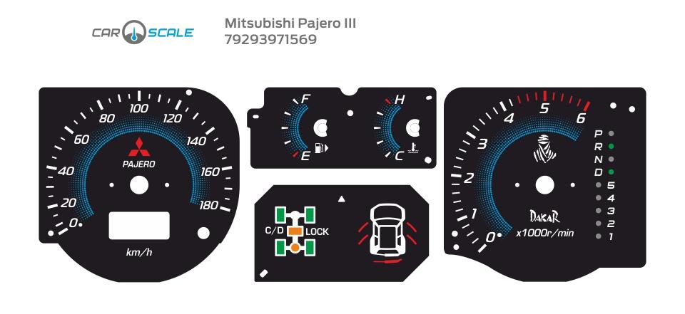 MITSUBISHI PAJERO 3 07