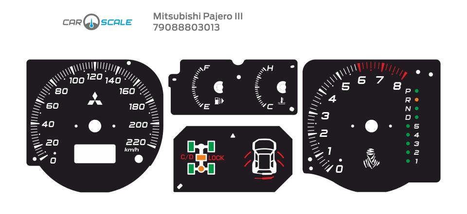 MITSUBISHI PAJERO 3 08