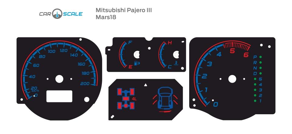 MITSUBISHI PAJERO 3 09