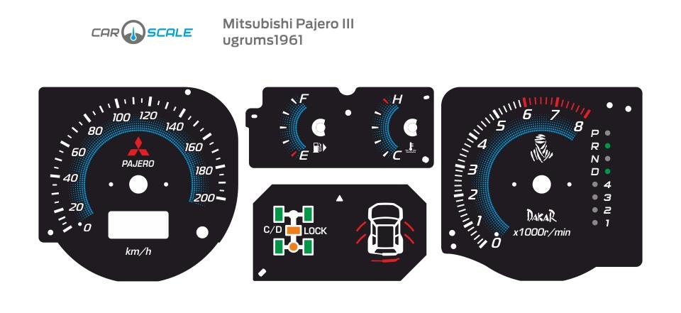 MITSUBISHI PAJERO 3 10