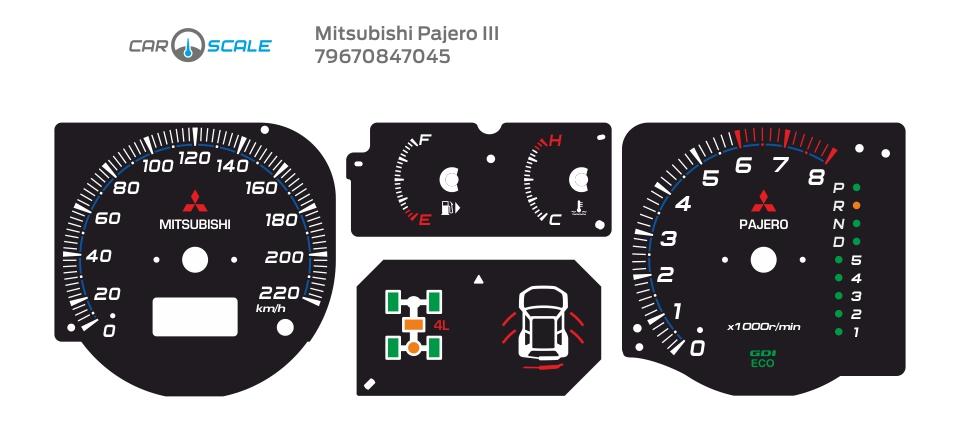MITSUBISHI PAJERO 3 11