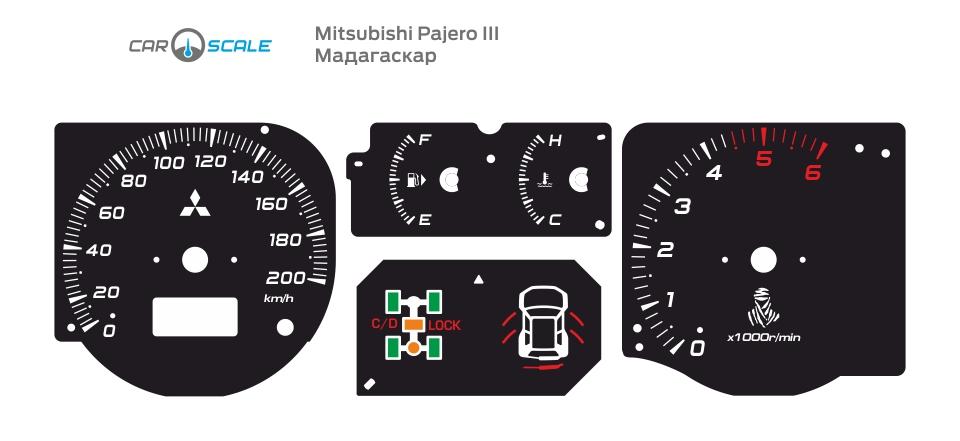MITSUBISHI PAJERO 3 12