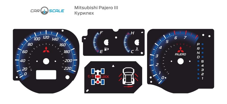 MITSUBISHI PAJERO 3 13