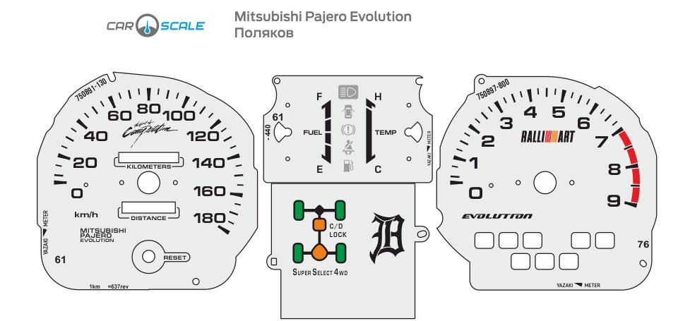 MITSUBISHI PAJERO EVOLUTION 03