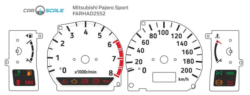 MITSUBISHI PAJERO SPORT 01