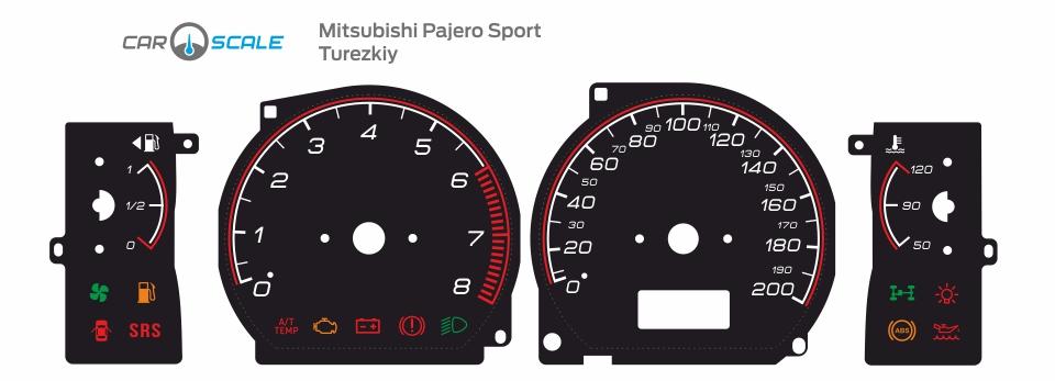 MITSUBISHI PAJERO SPORT 08