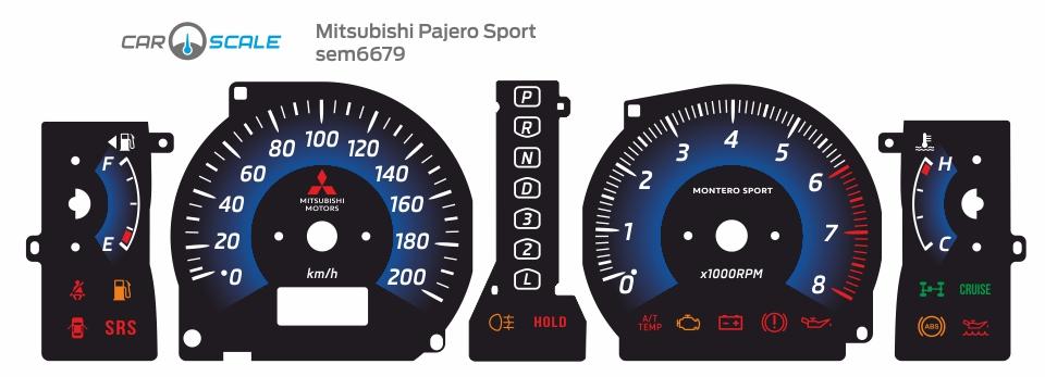 MITSUBISHI PAJERO SPORT 09