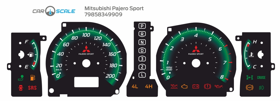 MITSUBISHI PAJERO SPORT 15