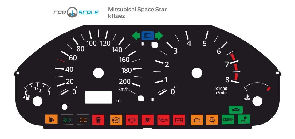MITSUBISHI SPACE STAR 01
