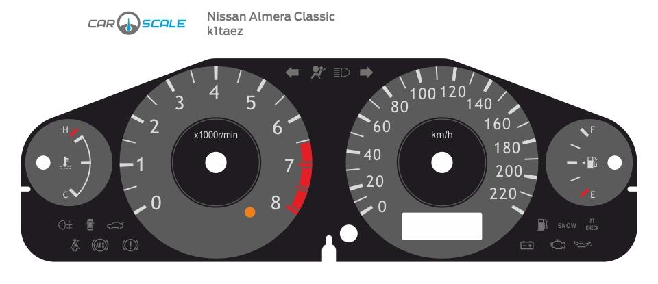 NISSAN ALMERA CLASSIC 01