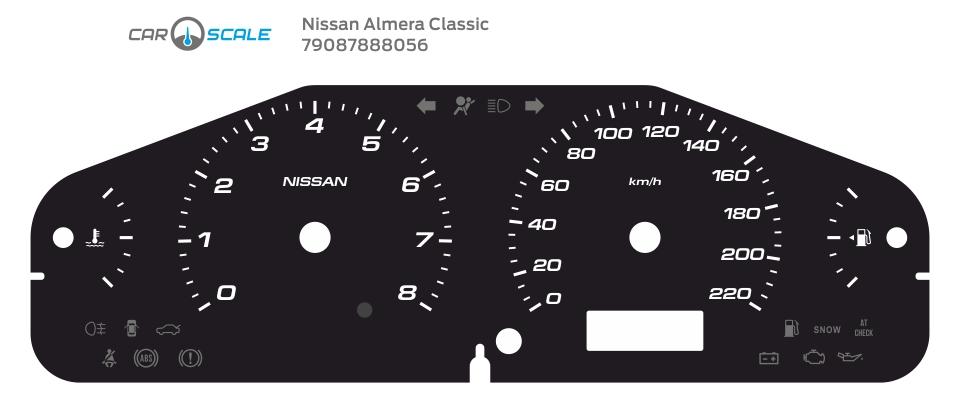 NISSAN ALMERA CLASSIC 08