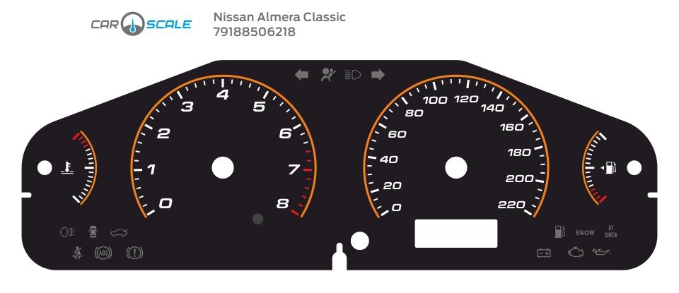 NISSAN ALMERA CLASSIC 09